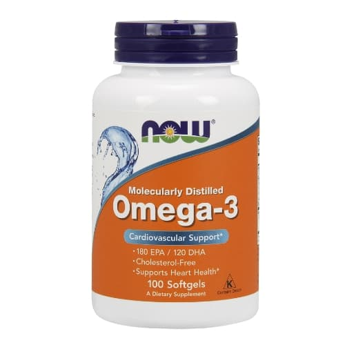 NOW Omega-3 1000 mg 100 sof фото